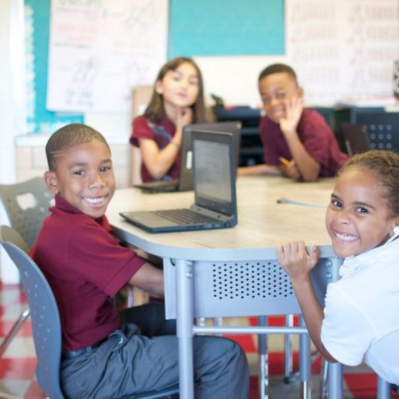 This software company has donated millions to local schools for tech equipment